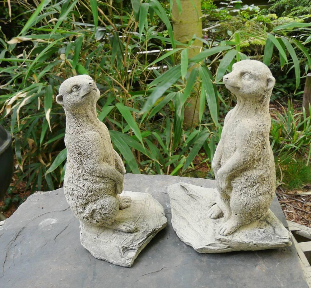 Erdm nnchen steinguss steinfigur gartendeko ebay for Gartendeko aus stein und metall