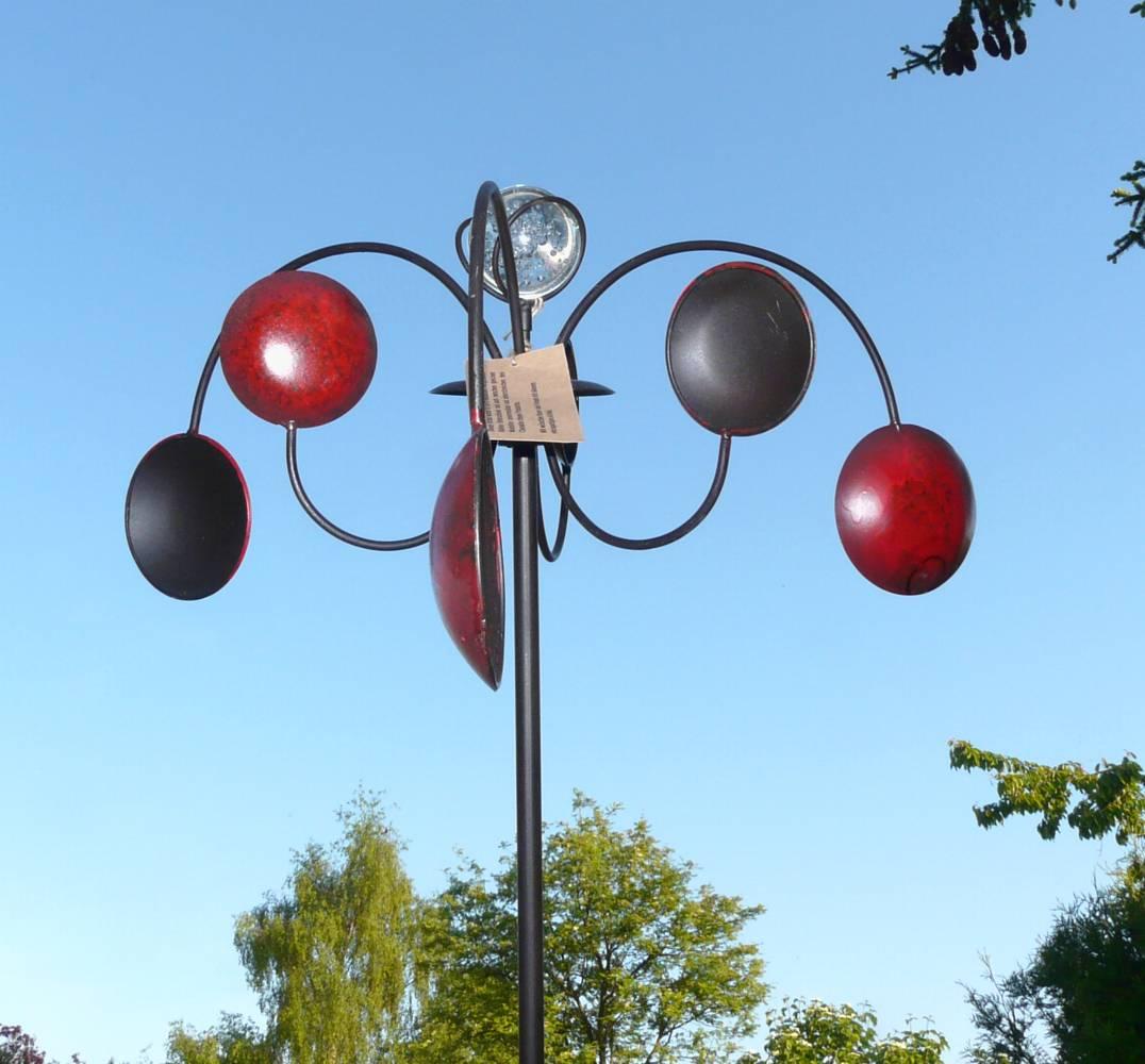 Preview for Gartenstecker metall rostoptik edelstahl